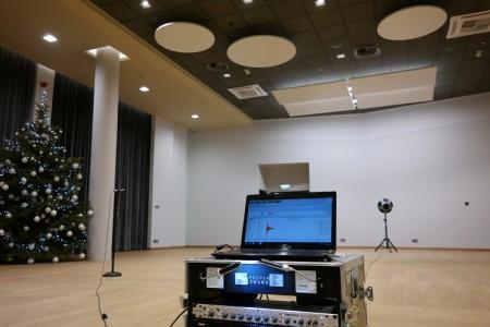 Pomiary akustyki wnętrza Katowice