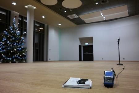 Pomiary hałasu w sali koncertowo, konferencyjno bankietowej