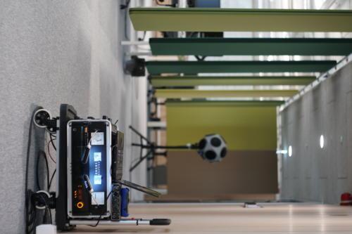 Sprzęt do pomiaru akustyki biura