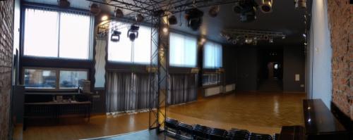Widok wnętrza ze sceny