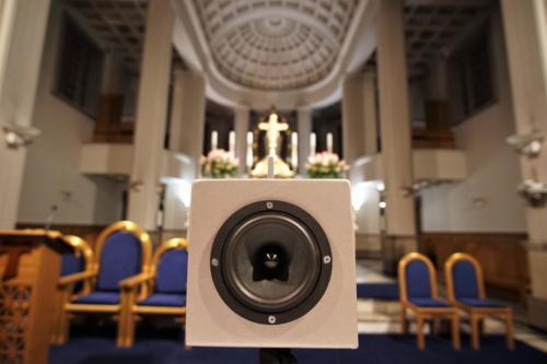 Pomiar STI PA w kościele