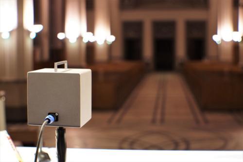 Pomiar akustyki kościoła